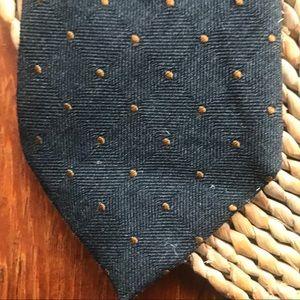 Banana Republic Italian wool & silk necktie tie